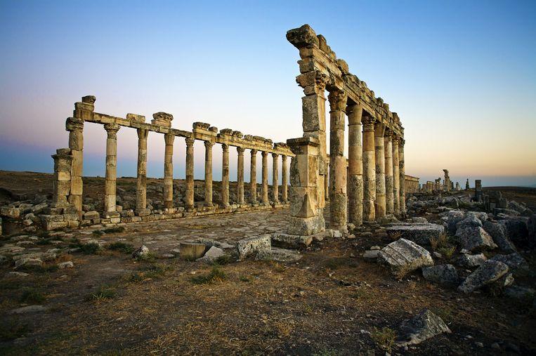 De archeologische site van Apamea. Beeld © Alvaro Leiva