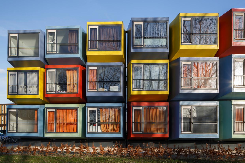 Ongebruikt Zijn containers de nieuwe sociale woningen? | De Morgen LU-68