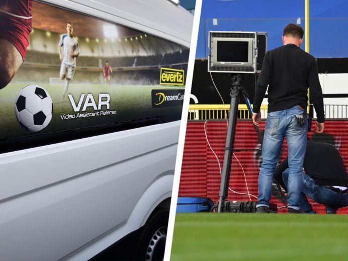 Genk-Anderlecht begon woensdag met een kwartier vertraging, omdat het VAR-busje te laat arriveerde aan de Luminus Arena.