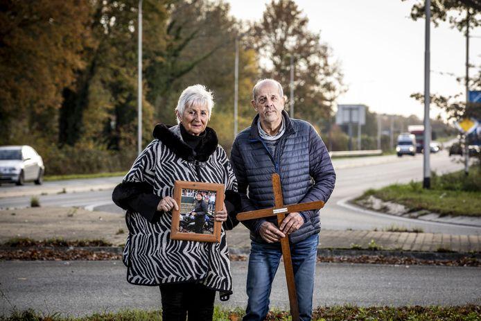 Patty, de dochter van Truus en John Lage Venterink uit Weerselo, verongelukte in 2007 op 37-jarige leeftijd.
