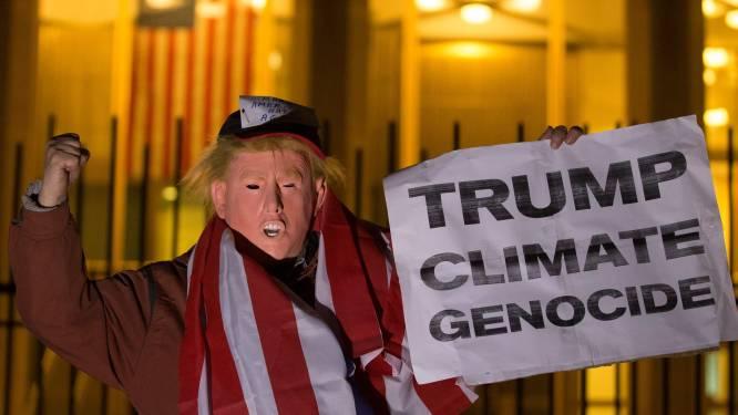 """""""Aarde stevent af op opwarming met 3,4 graden en dat hebben we deels aan Donald Trump te danken"""""""