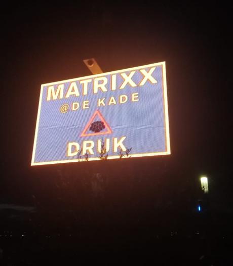 Politie waarschuwt: drukte bij Matrixx at the Park