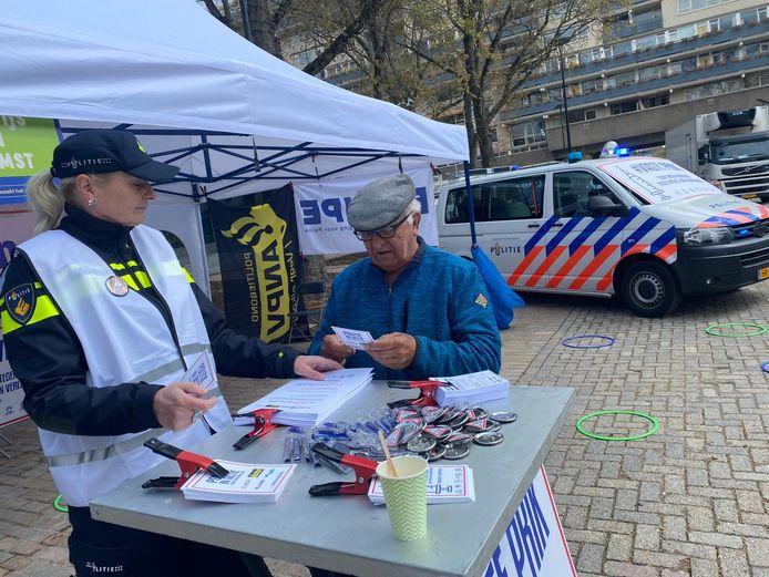 Politie in actie voor een betere cao.
