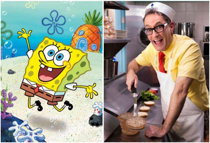 Tom Kenny is Spongebob.
