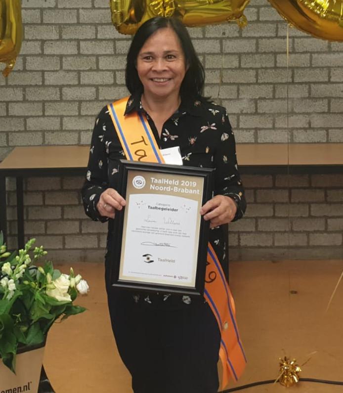 Louise Willems uit Helmond: Brabantse Taalheld 2019