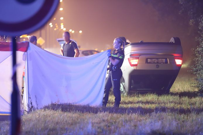 Een man is om het leven gekomen bij een ongeval op de Landscheidingsweg