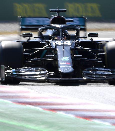 Hamilton en Bottas blijven Max ook 's middags ver voor