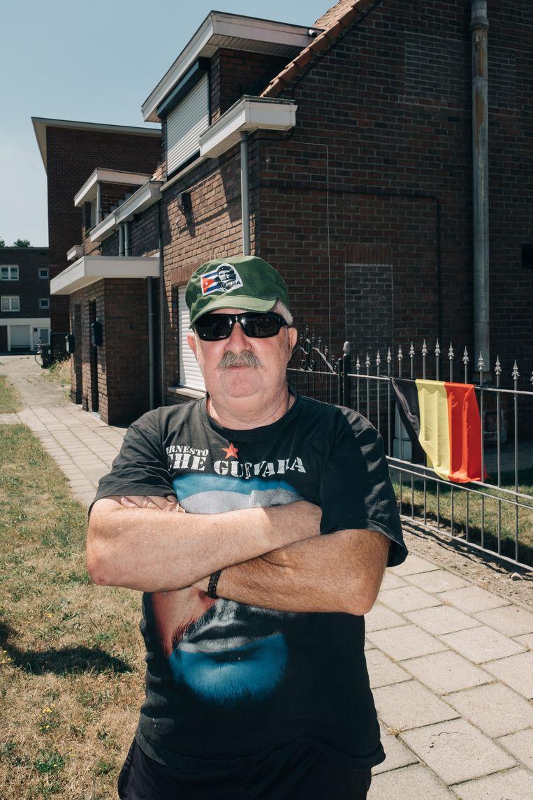Freddy Willems, de Che Guevara van Klein Rusland, woont al zijn hele leven in de wijk. Beeld Wouter Van Vooren