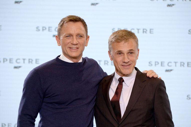 Daniel Craig en Christoph Waltz. Beeld PHOTO_NEWS