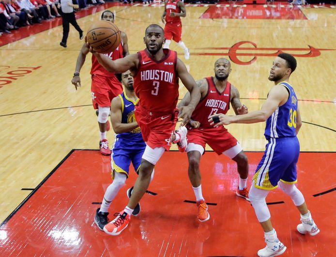 Golden State Warriors komt tegen Houston Rockets op een beslissende 4-2-voorsprong.