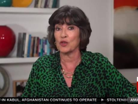 Christiane Amanpour, star de CNN, annonce en direct son cancer des ovaires