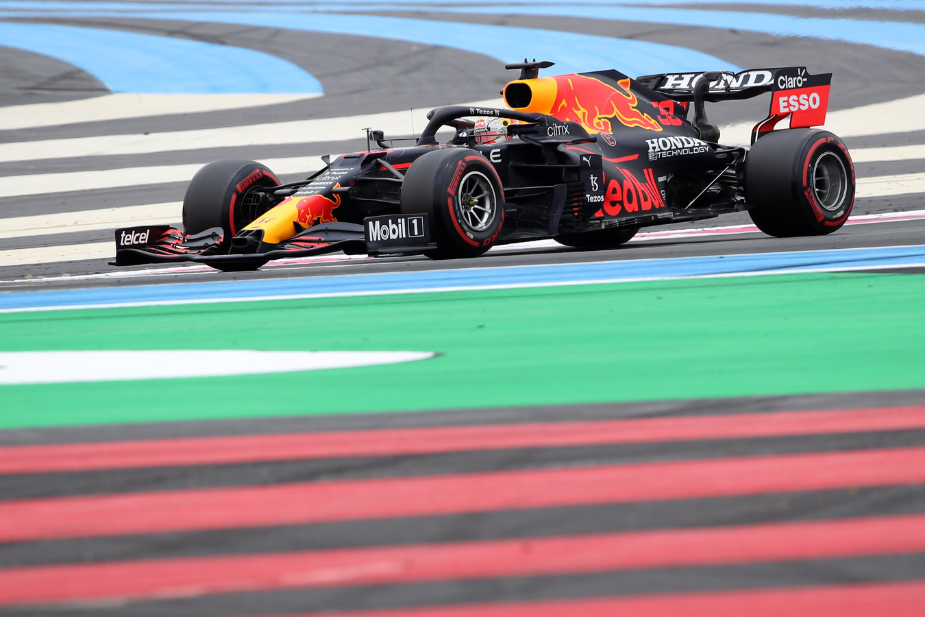 Formula One F1 - French Grand Prix - Circuit Paul Ricard, Le Castellet, France - June 19, 2021 Red Bull's Max Verstappen in action during practice REUTERS/Yves Herman
