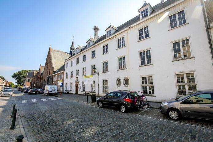 Het Sint-Janshospitaal in de Kerkstraat.