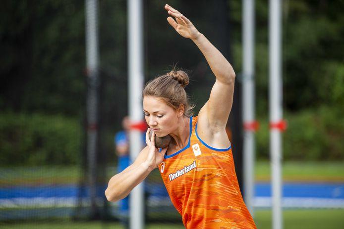 Emma Oosterwegel kon in Götzis weer meekomen met de beste meerkampers van de wereld.