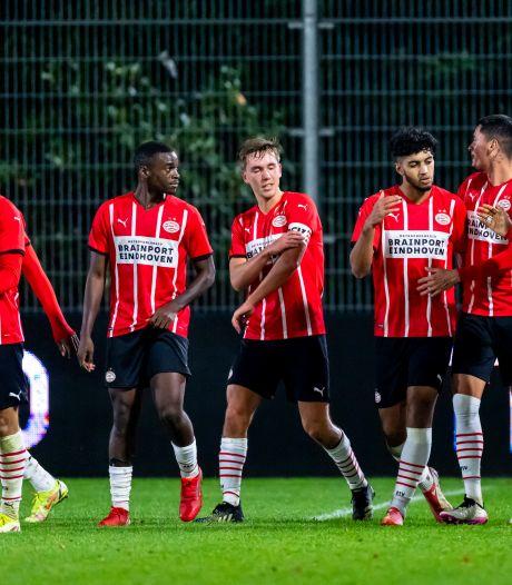 Jong PSV verzuimt Telstar de nek om te draaien en gaat onderuit