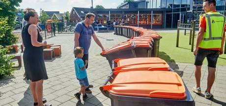 Geffenaren kopen voor 10 euro afvalbak voor plastic terug, en dat verdient een feestje