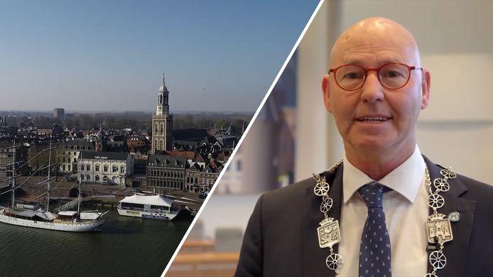 Een nieuwe burgemeester 'uit onverwachte hoek' ziet Kampen wel zitten, als deze maar in houding en gedrag lijkt op Bort Koelewijn.