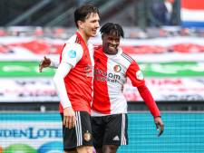 Feyenoord blijft dankzij goal en assist Berghuis in het spoor van Vitesse