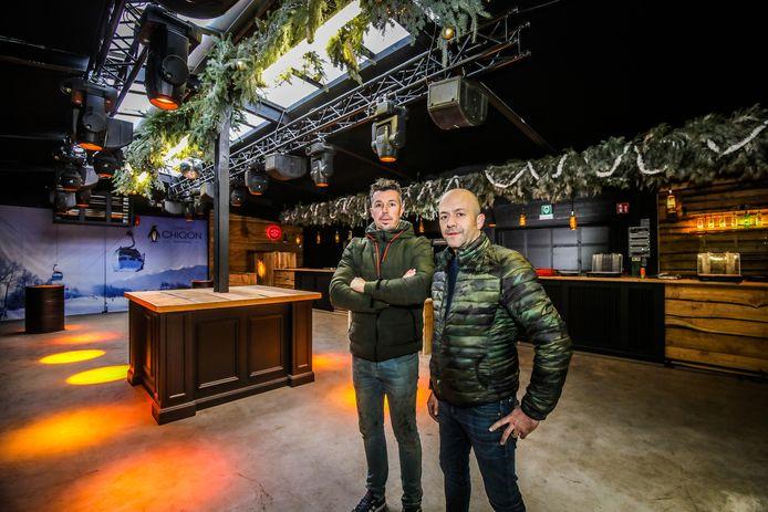 Uitbaters David Verduyn en Olivier Desmet.