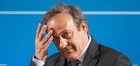Michel Platini en garde à vue