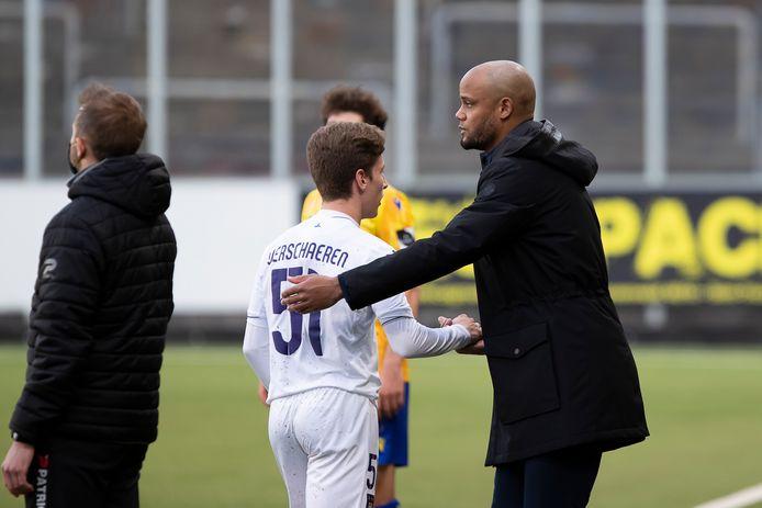 Yari Verschaeren a libéré le Sporting à dix minutes du terme.