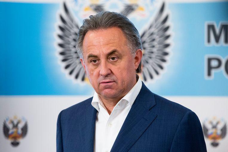 Mutko, de Russische minister van Sport. Beeld AP
