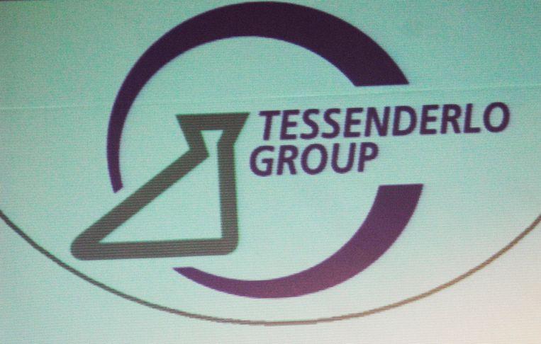 Het logo van Group Tessenderlo. Beeld BELGA
