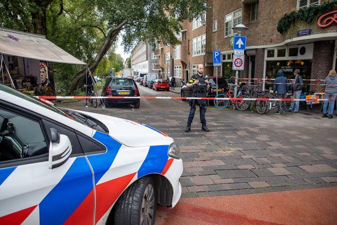Dinsdagmiddag was in dezelfde straat ook al een schietpartij.