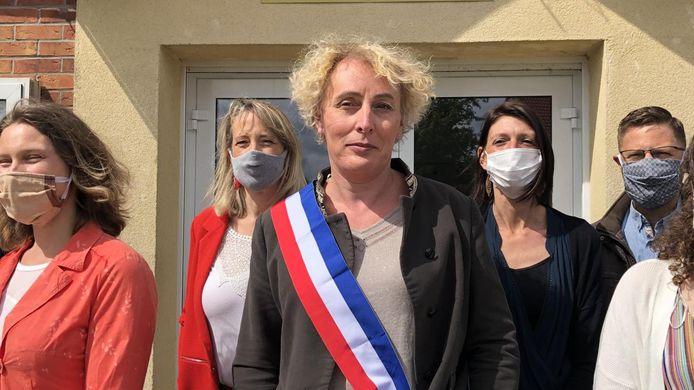 Marie Cau is de nieuwe burgemeester van Tilloy-lez-Marchiennes.
