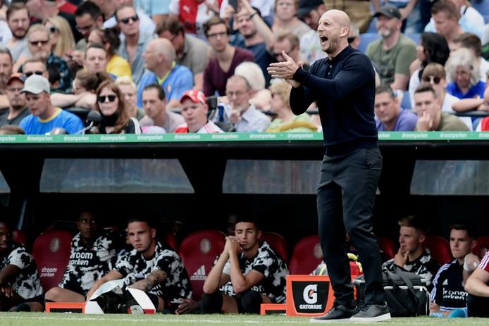 Jaap Stam, trainer Feyenoord