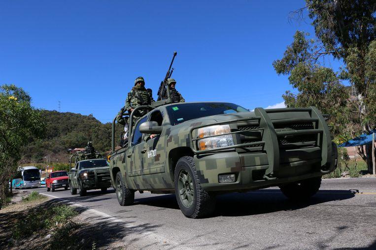 Mexicaanse militairen (archiefbeeld).
