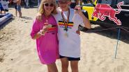 Brent (12) en Lore (10) winnen Belgische titels in het skimboarden
