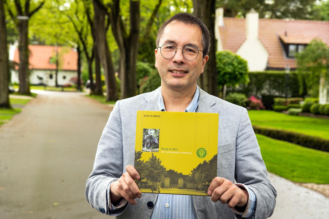 Historicus Frederik Erens leverde ook een bijdrage aan het boek over Berg en Bos.