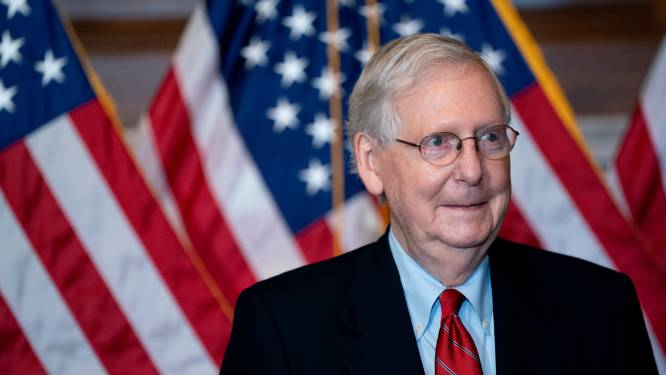 """Republikeinse leider in Senaat blijft achter Trump staan: """"Alle recht om 'onregelmatigheden' uit te spitten"""""""