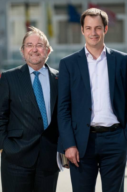 Herman et Alexander De Croo