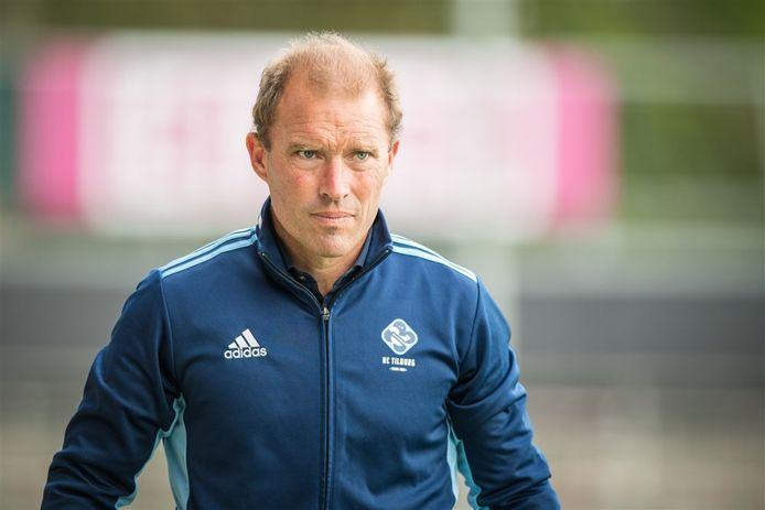 HC Tilburg-coach Jeroen Delmée.