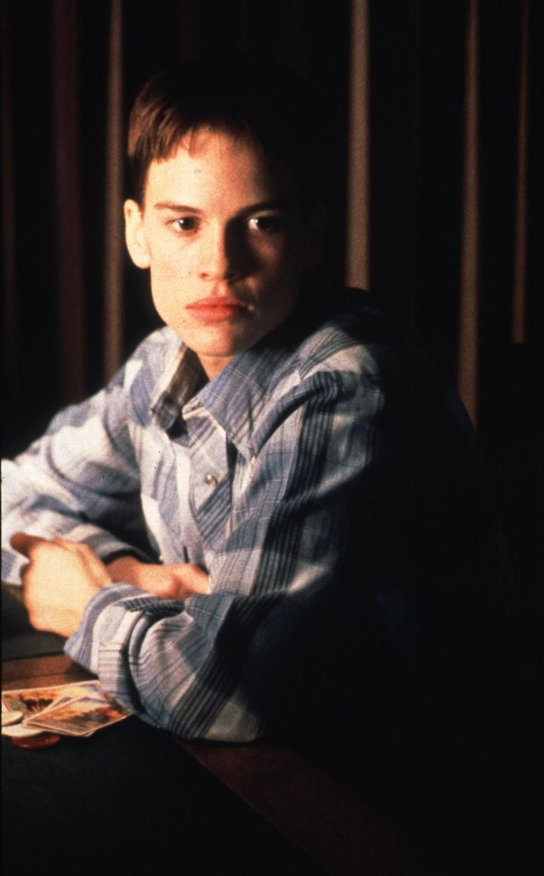 Hilary Swank in 'Boys Don't Cry'