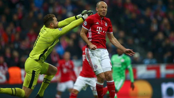 Zoet in actie met Robben.