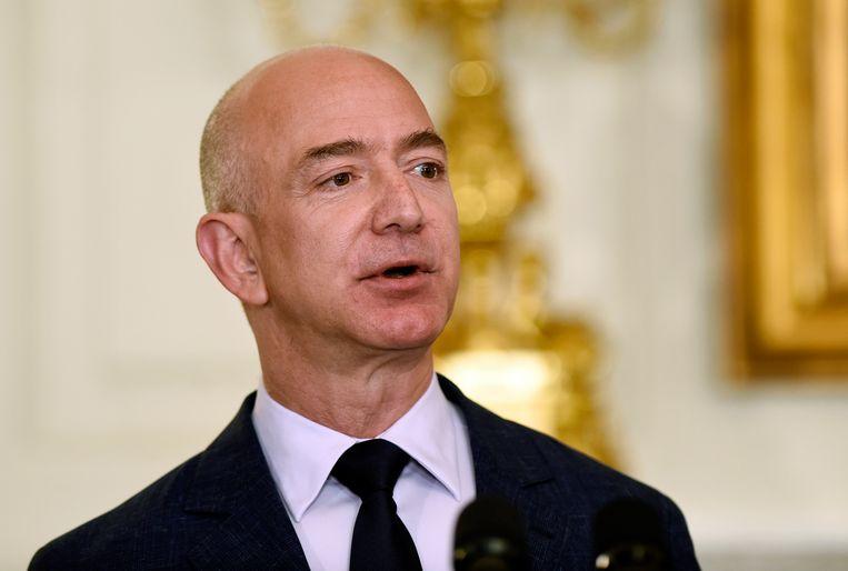 Jeff Bezos, rijkste persoon ter wereld. Beeld AP