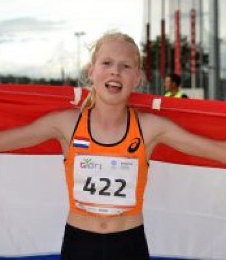 Anna Hightower (17) uit Arnhem rekent als een-na-jongste junior op finale bij EK atletiek