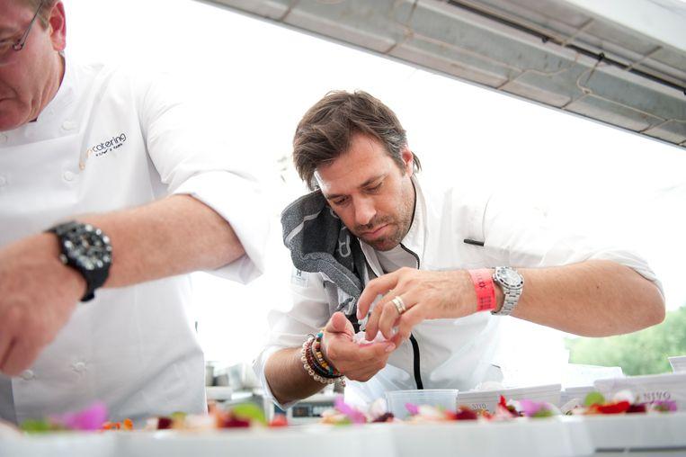 Sergio Herman in actie tijdens Tomorrowland 2012. Beeld BELGA
