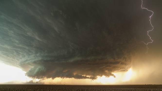 #extreemweer: kans op een supercel