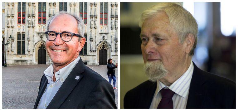 Er zit een serieus haar in de boter tussen Brugs burgemeester Renaat Landuyt (sp.a) en gewezen politicus en tweedeverblijver Hugo Coveliers.