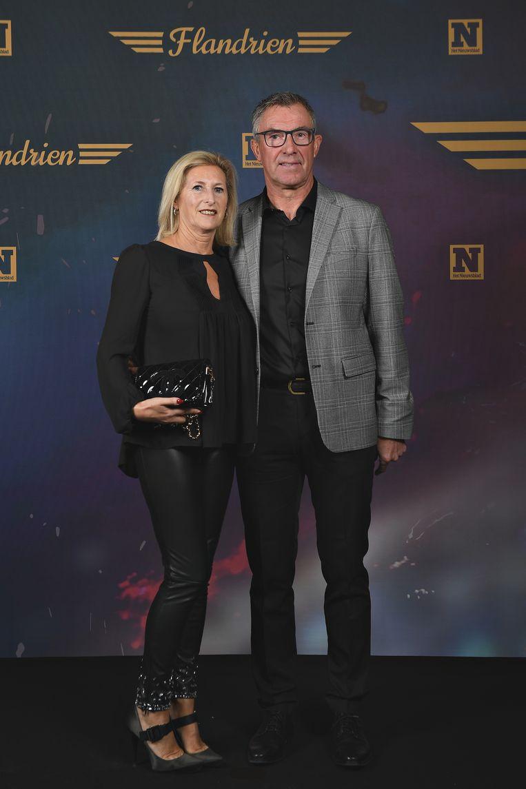 Dirk De Wolf en Linda Floquet.