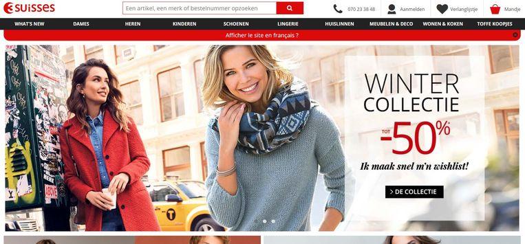 De Belgische tak van de Franse webshop 3 Suisses is vorige week failliet verklaard. De eigenaar van 3 Suisses België, het Franse bedrijf Domoti, was enkele dagen voordien het faillissement gaan aanvragen. Beeld Screenshot 3 Suisses