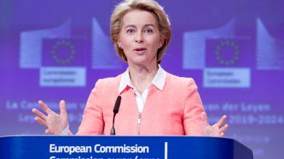 Von der Leyen blijft bij controversiële titel 'Bescherming van onze Europese levenswijze' voor Griekse Eurocommissaris