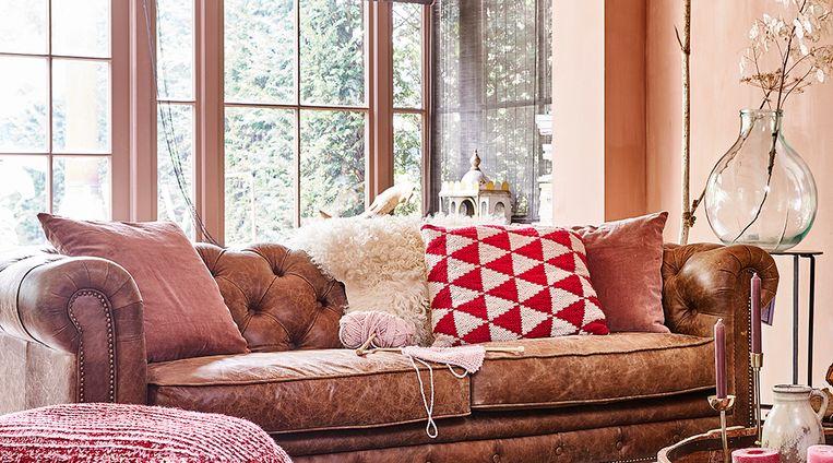 Zo maak je jouw eigen vrolijke kussens met jacquardpatroon