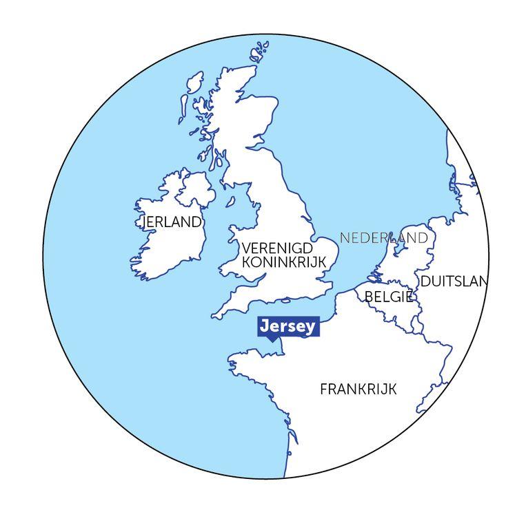 Jersey  maakt zijn eigen wetten en valt niet onder de jurisdictie van de Europese Unie, wat het een populair belastingparadijs maakt. Beeld DM