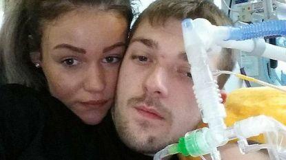 Vier maanden geleden moesten ze afscheid nemen van Alfie, nu verwelkomen ouders nieuw zoontje