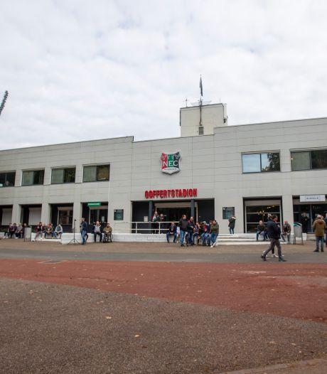 NEC vindt geen andere locatie en speelt voorlopig in lege Goffert: 'We kunnen niet anders'